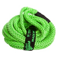 Kinetic Recovery Rope UTV 1/2 Inch x 20 Foot (12.7mm 6m) Green VooDoo Offroad