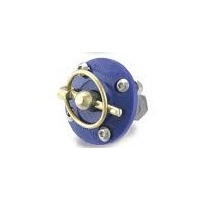 "AutoFab Complete 65mm (2-9/16"") Blue Urethane Hood Pin Bushing Assembly With Q-Clip, Bolts and Nyloc Nuts"