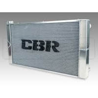 CBR 35x19 Dual Pass Aluminum Radiator With Dual Fans With Right Side Fill Neck