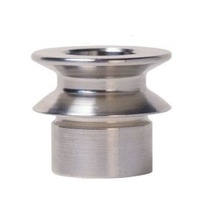 DFI Misalignment Straight Spacer 1/2-13mm bore to 10mm / 3/8 bolt hole in Stainless Steel