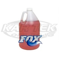 Fox Red Extreme Shock Absorber Oil For Factory Series Or Performance Series Shock 1 Litre