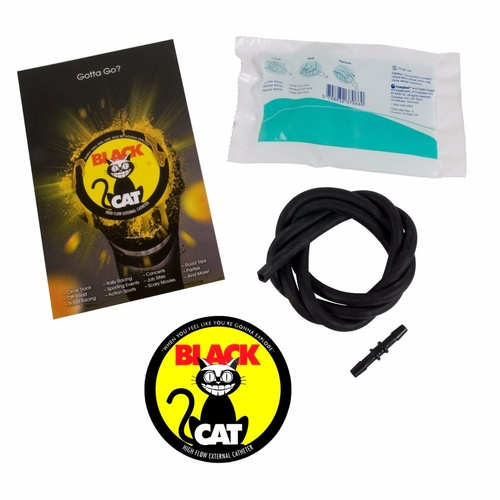 Poly Performance Black Cat High Flow External Catheter Kit, 28mm